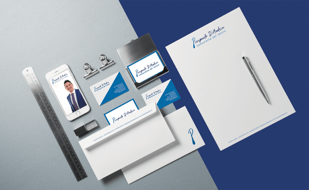 Brand Identity Pierpaolo D'Andria