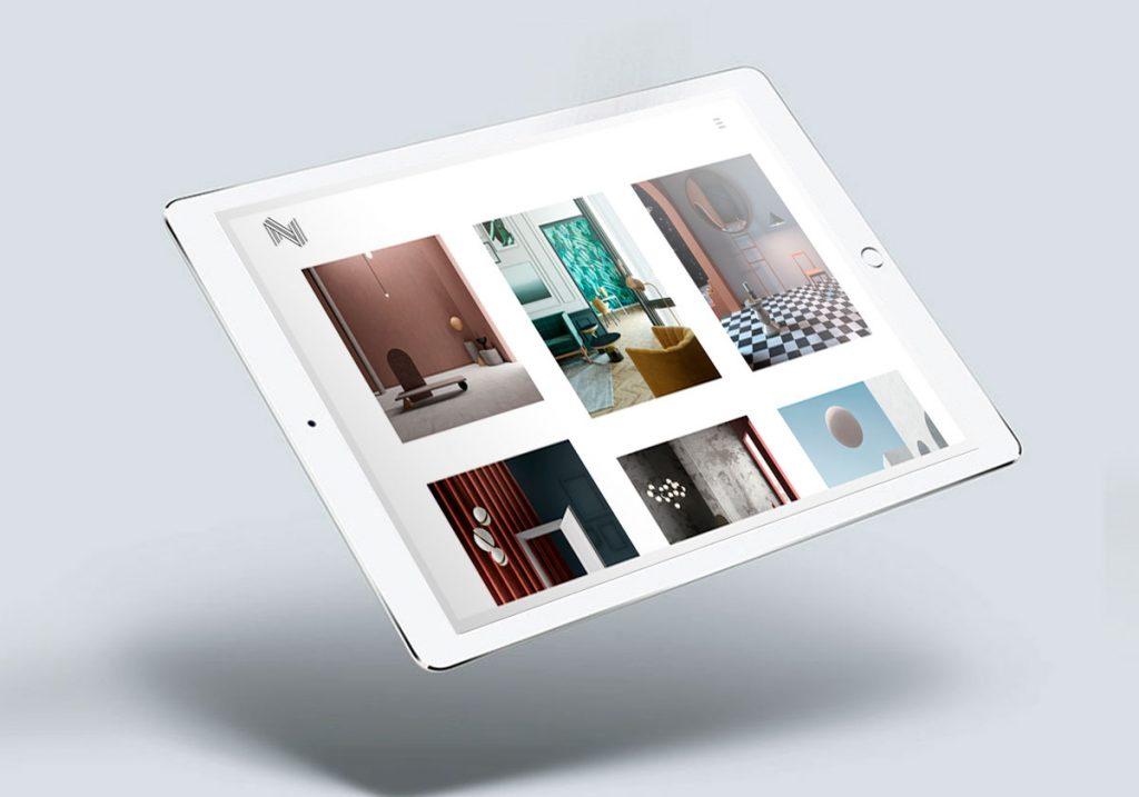 Mockup tablet sito notooStudio