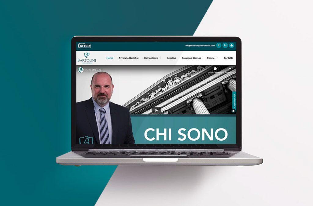 Sito web Studio Legale Bartolini