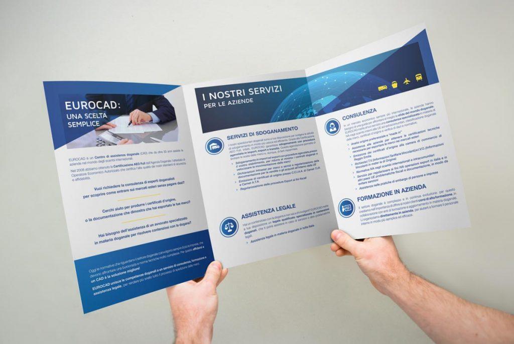Brochure Eurocad aperta - Graffette