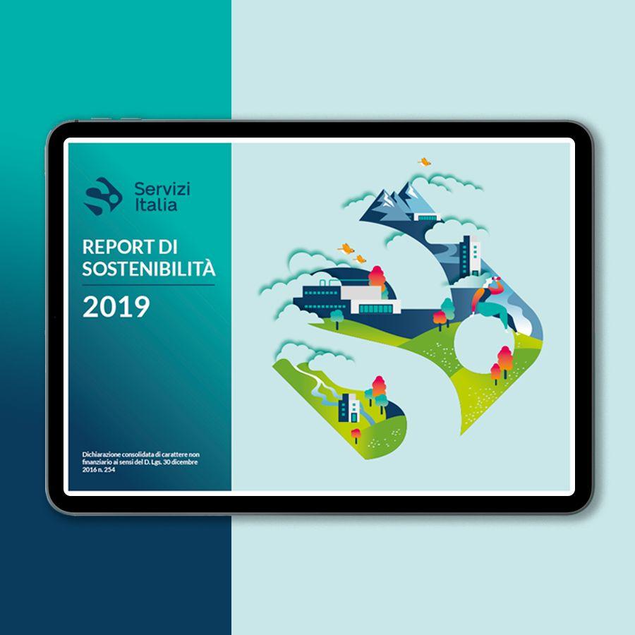 Cover Servizi Italia Report 2019