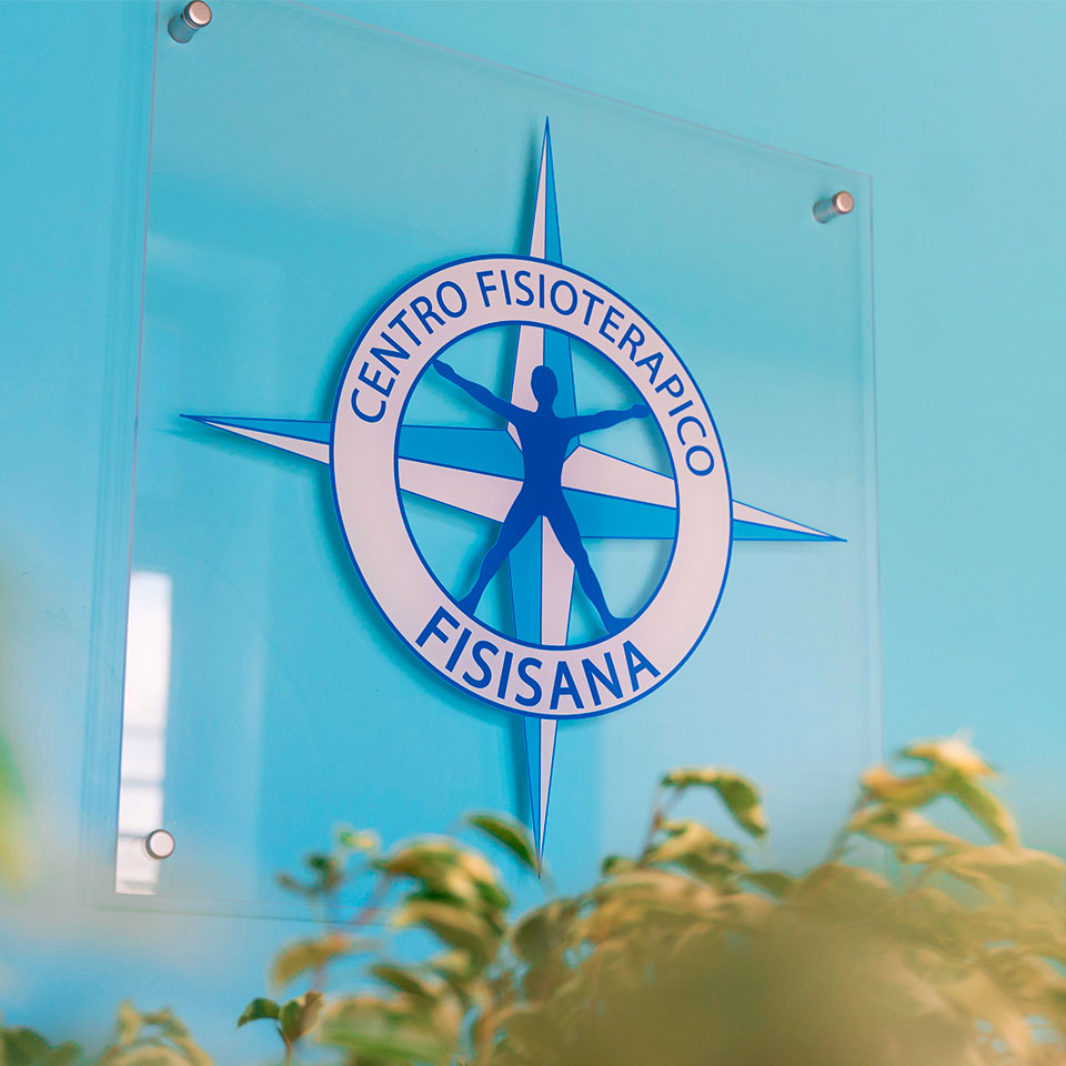 Centro Fisisana logo all'ingresso