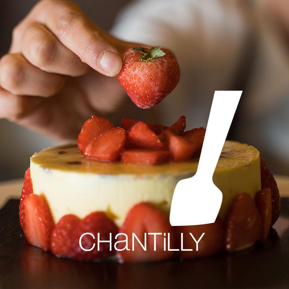 Torta alle fragole Chantilly Moglia