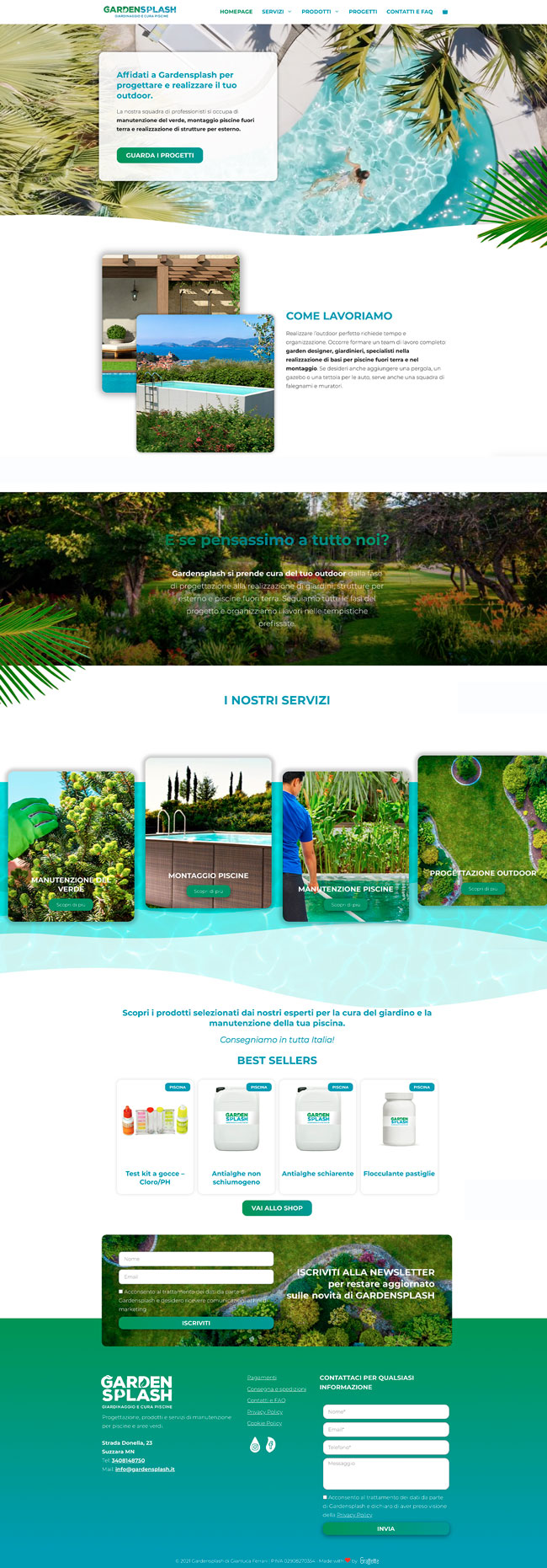 gardensplash homepage