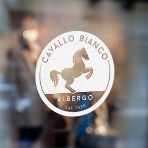 Logo hotel Cavallo Bianco