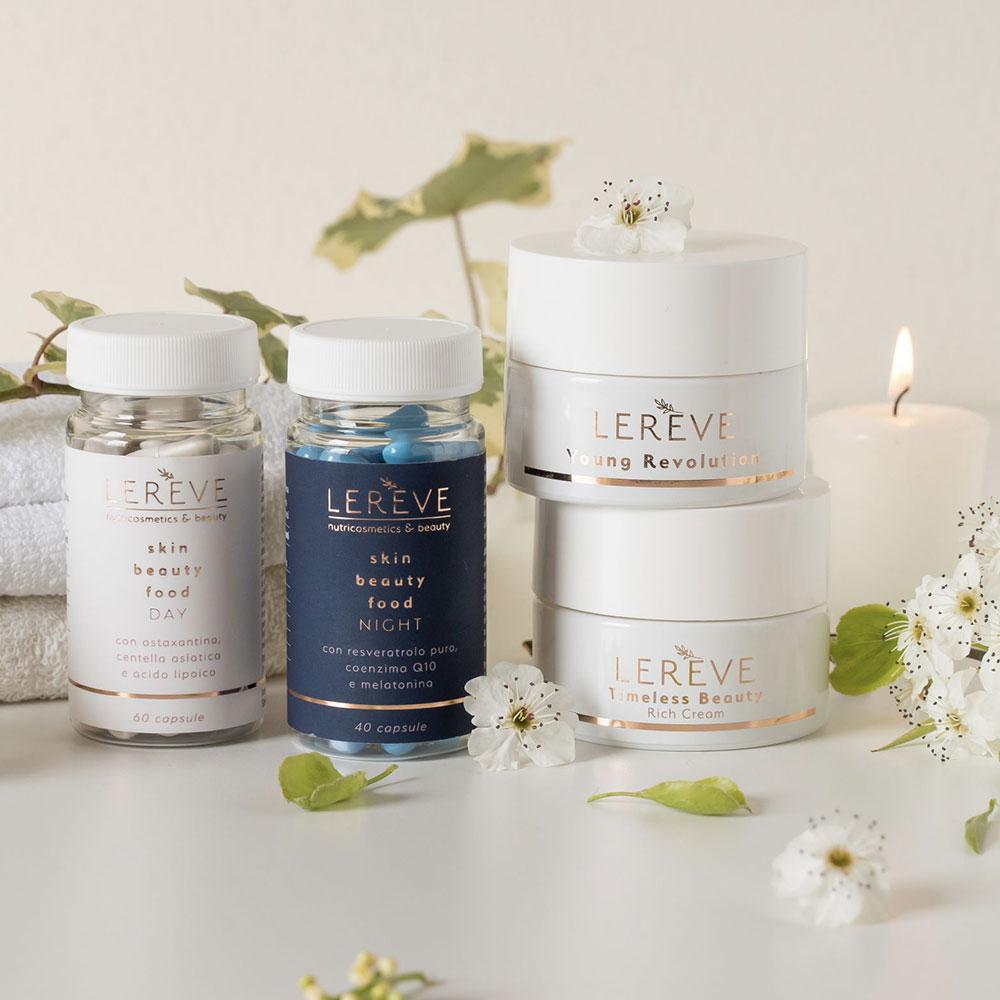 Linea prodotti Lerève Beauty